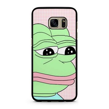 Aesthetic Pepe Frog Samsung Galaxy S7 Case