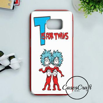 Thing 1 And Thing 2 Samsung Galaxy S8 Case | casescraft