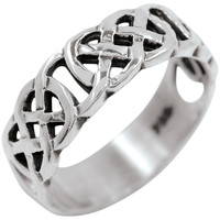 Celtic Knot - Eternal Silver Ring