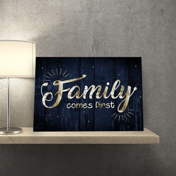 Family First 11 x 14 Canvas Set (Free Shipping)