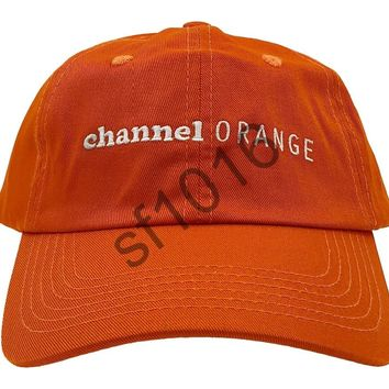 """channel orange"" dad hat"