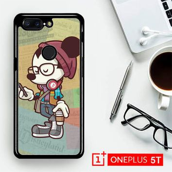 Hipster Mickey Mouse L1579  OnePLus 5T / One Plus 5T Case