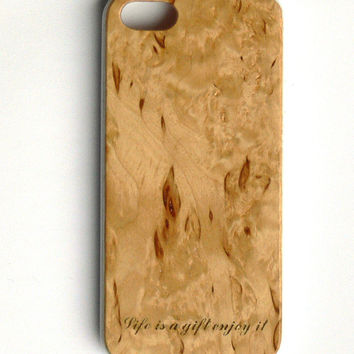 Iphone 5 wooden case. Cover case for Iphone 5th. Soft TPU Bumper With Wooden Hard Back Case Cover For Apple iPhone 5