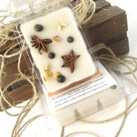 Country Home scented Soy Candle Tarts -- Potpourri Infused Soy Candle Melts -- (6)Cubes/3 Ounces