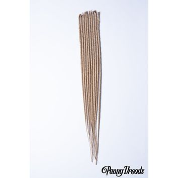 Dirty Blonde U-Tip Synthetic Dreadlocks (10 pieces)