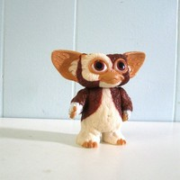 80s Toy Gizmo Gremlins Vinyl Doll Small Mini Children by retroEra