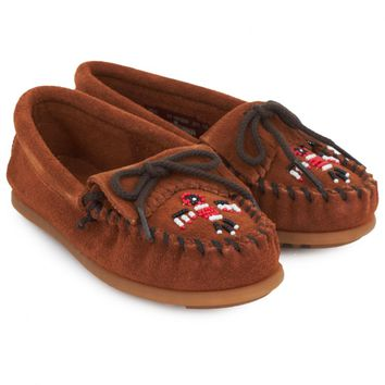 Suede Thunderbird 2 Beaded Loafers