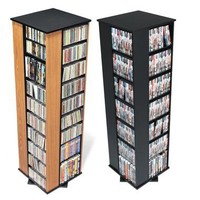 832- & 1040-cd Storage Towers | Electronics & Gadgets | SkyMall