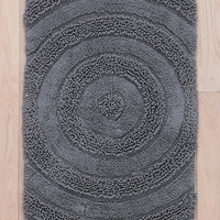Tufted Bullseye Bath Mat