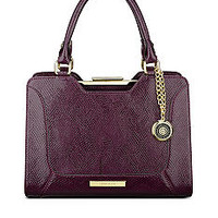 Anne Klein Frame It Medium Satchel - Belk.com