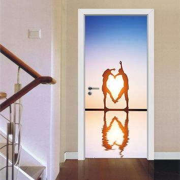 Removable 3D Wall Sticker Decal Art Decor Vinyl Mural Poster Scene Window Door