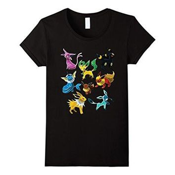 Poke Go Team Mystic Instinct Valor Eevee Shirt