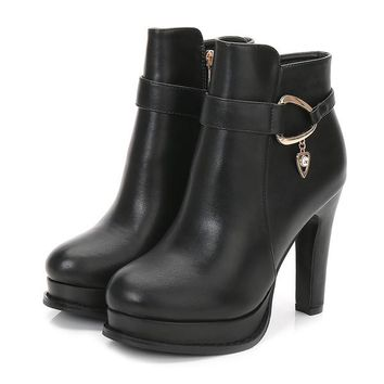 Crayo Buckle Ankle Boots