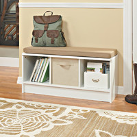 ClosetMaid Wood Storage Entryway Bench | Wayfair