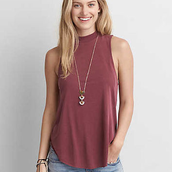 AEO Soft & Sexy Swing Tank, Burgundy