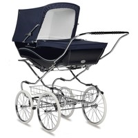 Silver Cross Balmoral Hand-Crafted Pram Stroller Pre-Order Navy