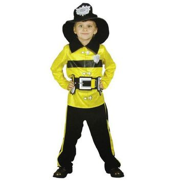 DCCKH6B Shanghai Story Fireman boys play stage cosplay costumes Halloween children clothing firefighters fire fighters