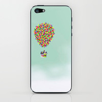 Up iPhone & iPod Skin by Derek Temple
