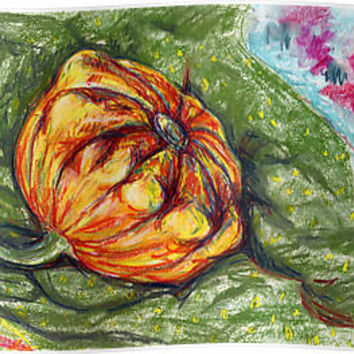"""Orange Squash by Alexandra Cook aka Linandara"" Posters by Linandara 