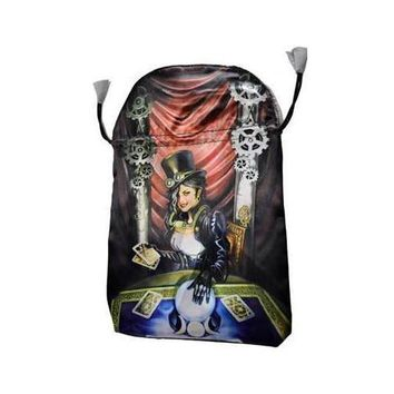 "Steampunk tarot bag by Llewellyn 6"" x 9"""