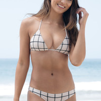 ACACIA SWIMWEAR - Humuhumu Stitched Top | Foam