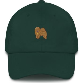 Chow Chow Baseball Cap For Women | Funny Dog Lover Dad Hat | The Jazzy Panda
