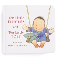 Toddler 'Ten Little Fingers and Ten Little Toes' Padded Board Book