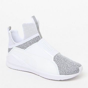 Puma Women's White Fierce Core Sneakers at PacSun.com