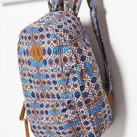 Tile Print Backpack