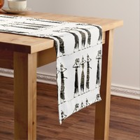 Happy Kwanzaa Short Table Runner