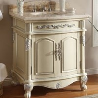 "32"" Charming Madeline Bathroom sink vanity Model Q1108108"