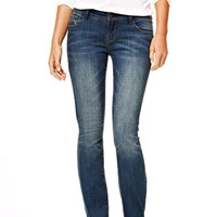 Reese Low-Rise Bootcut Jeans in Night Sky