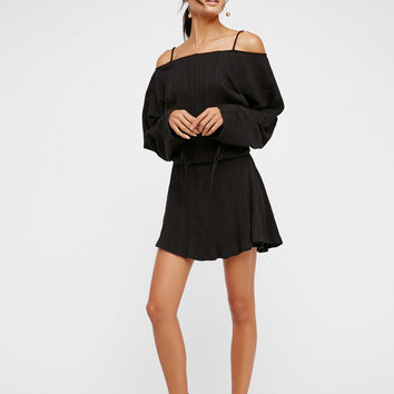 Free People Soak Up The Sun Mini Dress