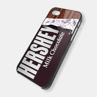 hersey coklat - iPhone 4 Case, iPhone 4s Case and iPhone 5 case Hard Plastic Case