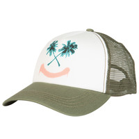 Billabong Women's All Away Trucker Hat Boyscout Green One