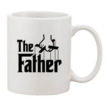 The Father Funny Coffee Mug Mugs Cup Fathers day gift for Dad Joke Parents Birthday Godfather Parody present Papa Movie Film Christmas