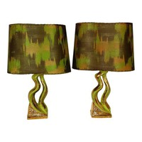 Eames Mid Century Pair of Lamps!