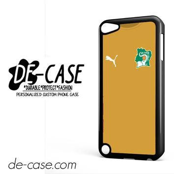 Ivory Coast Soccer Jersey For Ipod 5 Ipod Touch 5 Case Phone Case Gift Present YO