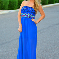 LOVE OF ROYALS MAXI DRESS