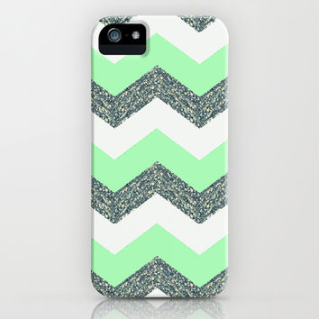 Green with Envy iPhone & iPod Case by Pink Berry Pattern