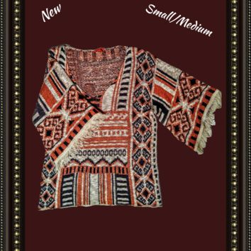 Chelsea and Violet  tribal print cover  size small/medium