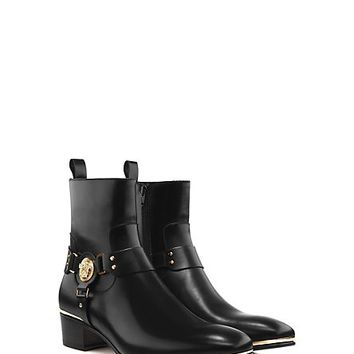 Versace - Square Toe Medusa Boot