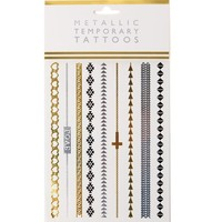 With Love From CA Metallic Arm Band Flash Tattoos - Womens Scarves - Multi - One