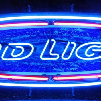 Bud Light Beer Neon Sign