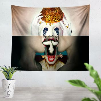 American Horror Story Collage Tapestry