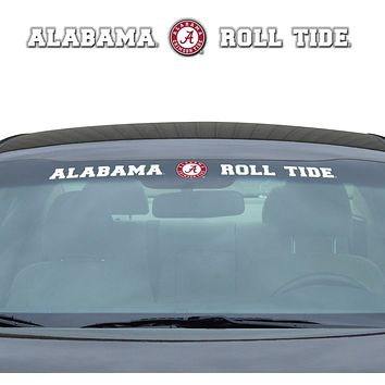 Alabama Crimson Tide Decal  35x4 Windshield