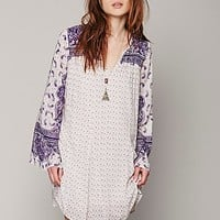 Free People Womens Dreamy Daze Print Dress