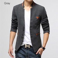 Asian Designer New Style Wool Blazer Jacket