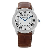 Cartier Ronde Solo Stainless Steel Silver Dial Quartz Watch W6700255