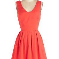 ModCloth Mid-length Sleeveless A-line Fine-Tuning Fabulous Dress